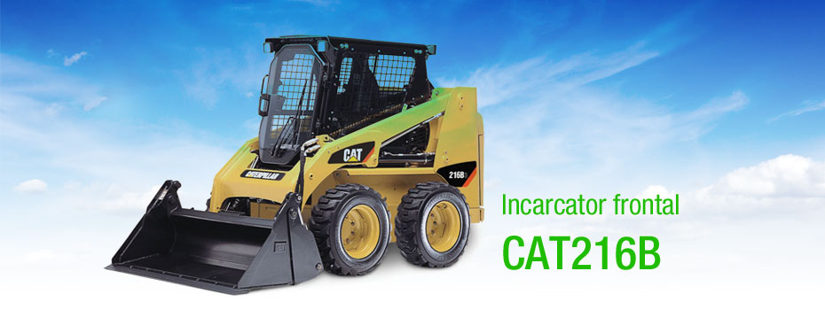 incarcator frontal CAT 216B